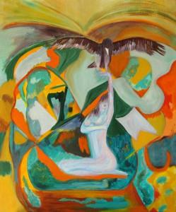 La femme et l'aigle
