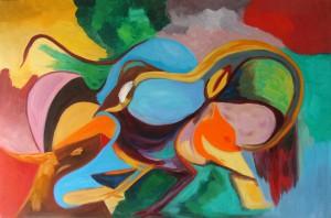 Oiseau charmeur